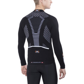 X-Bionic Twyce Biking Jersey LS Men, black/white